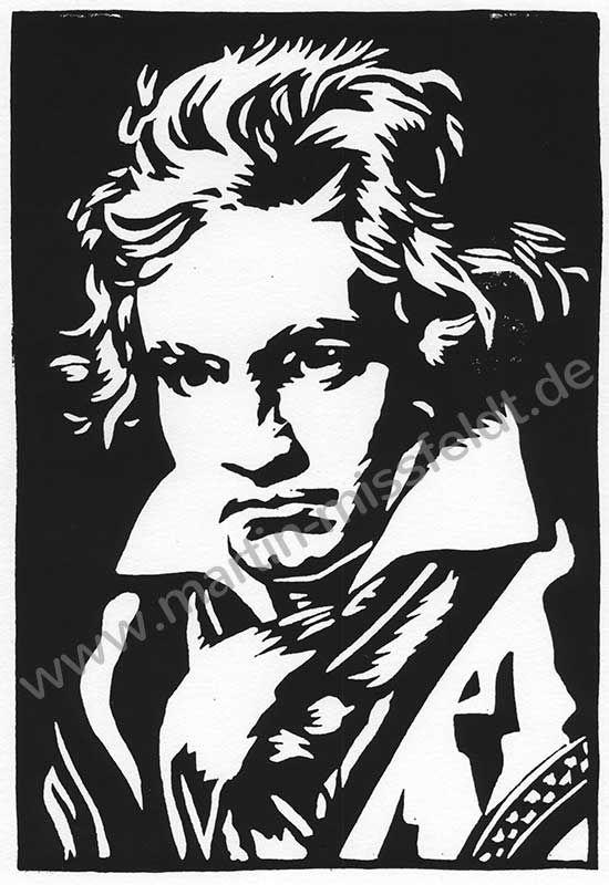 Ludwig van Beethoven (Druckgrafik)