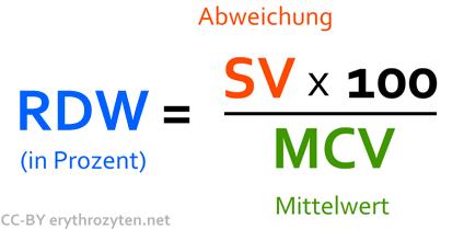 RDW Wert