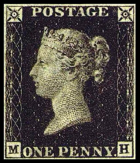 Erste Briefmarke