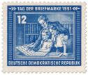 Tag der Briefmarke, DDR 1951