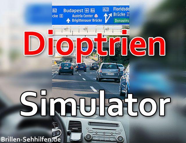 Dioptrien Simulator