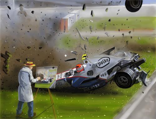 Formel1 Unfall