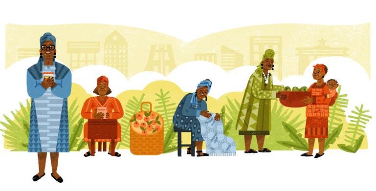 Esther Afua Ocloo Google Doodle