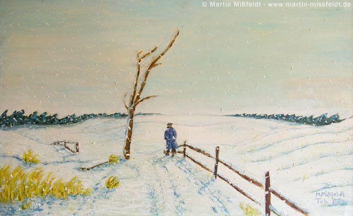 Winterlandschaften malen