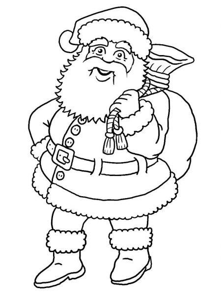 Santa Claus Coloring