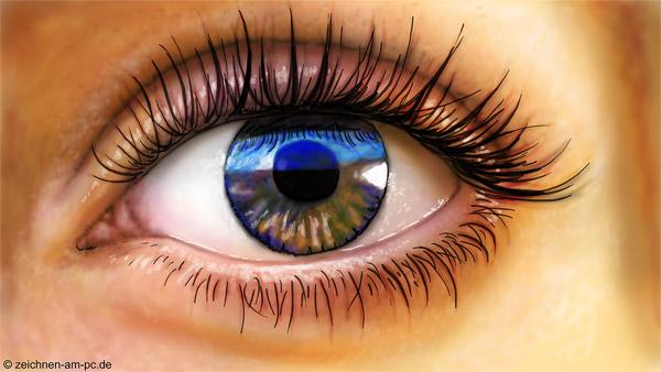 Wie zeichnet man ein Auge?